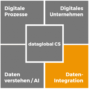 Datenintegration mit der Software dataglobal CS