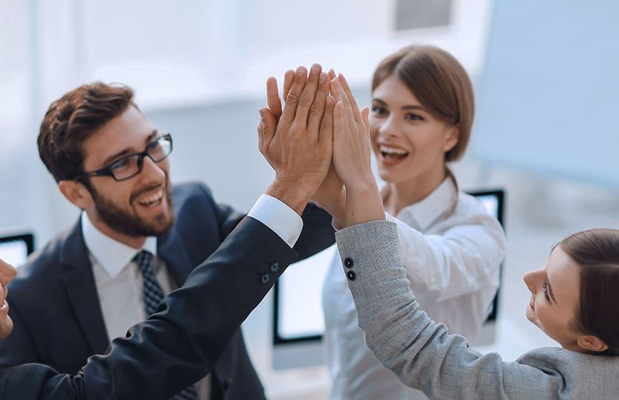 Unser Customer Success Team begleitet Sie mit unserem Kundenprogramm