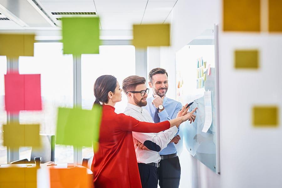 Kreativer Workshop mit unserem Customer Success Team